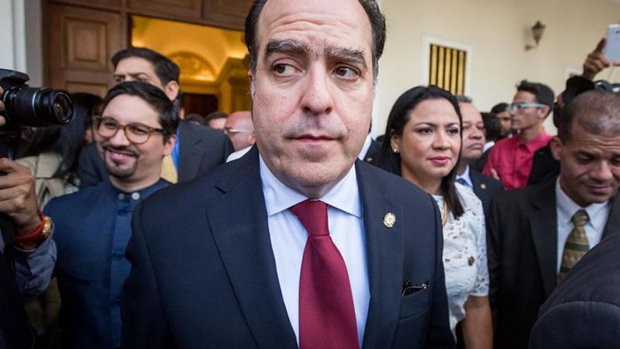 """El Parlamento venezolano denuncia el """"terrorismo de estado"""" tras la detención de Caro"""