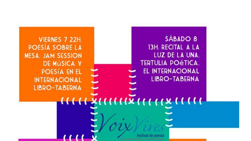 Cartel presentación Festival Voix Vives