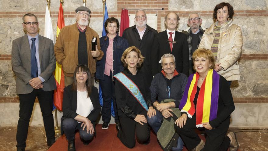 La Biblioteca Central de Cantabria ya es un Sitio de Memoria Histórica. | RAÚL LUCIO