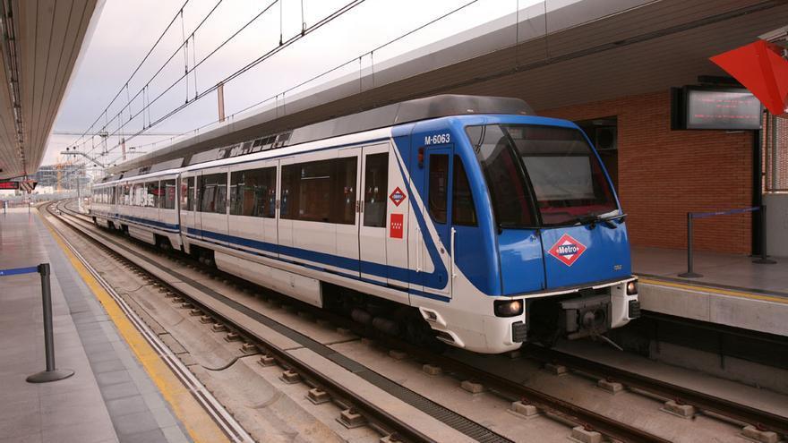 Una estación de la red de Metro de Madrid