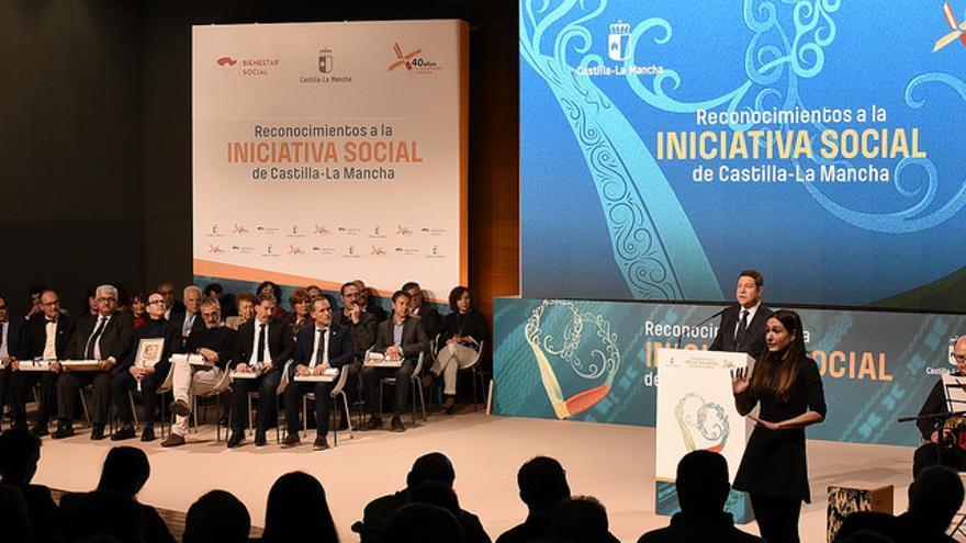 Acto en Albacete con los Reconocimientos a la Iniciativa Social de Castilla-La Mancha