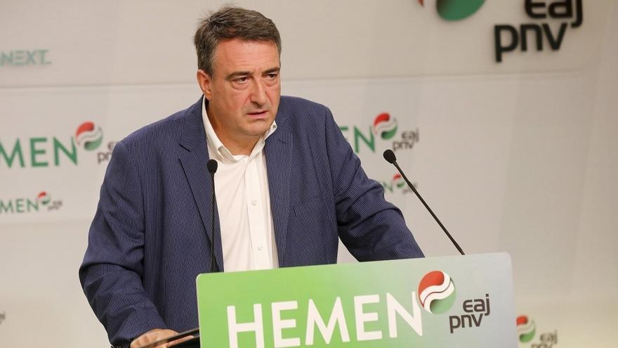 El portavoz del PNV en el Congreso, Aitor Esteban