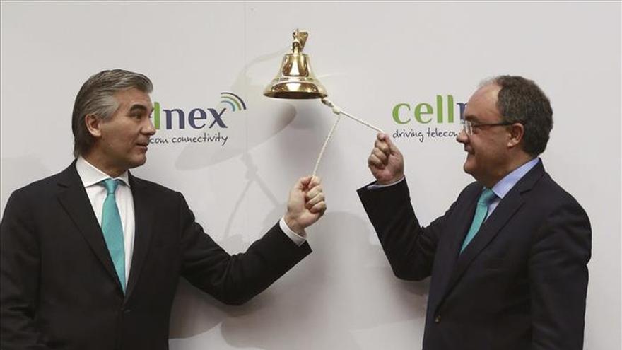 Cellnex Telecom se estrena en bolsa con una subida del 11,4 %