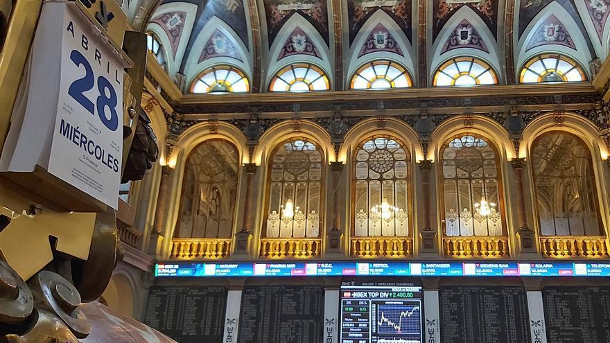 La Bolsa española se da la vuelta y cae un 0,27 % tras apertura en positivo