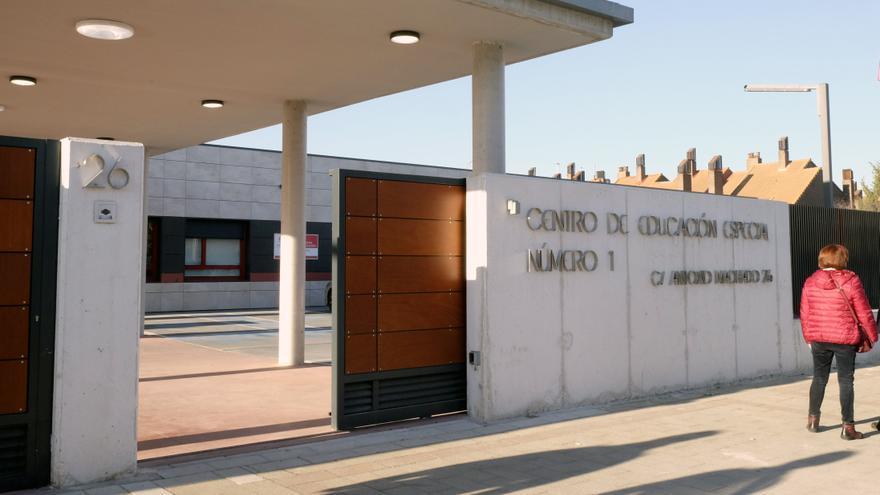 El Colegio de Educación Especial número 1, en Valladolid
