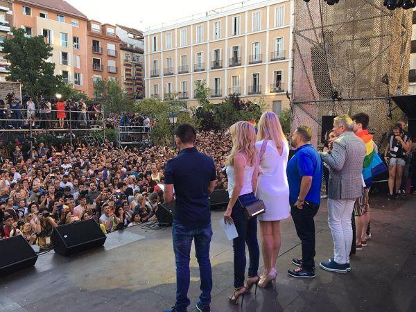 Pregón del WorldPride2017 | Fotografía: WorldPride Madrid 2017