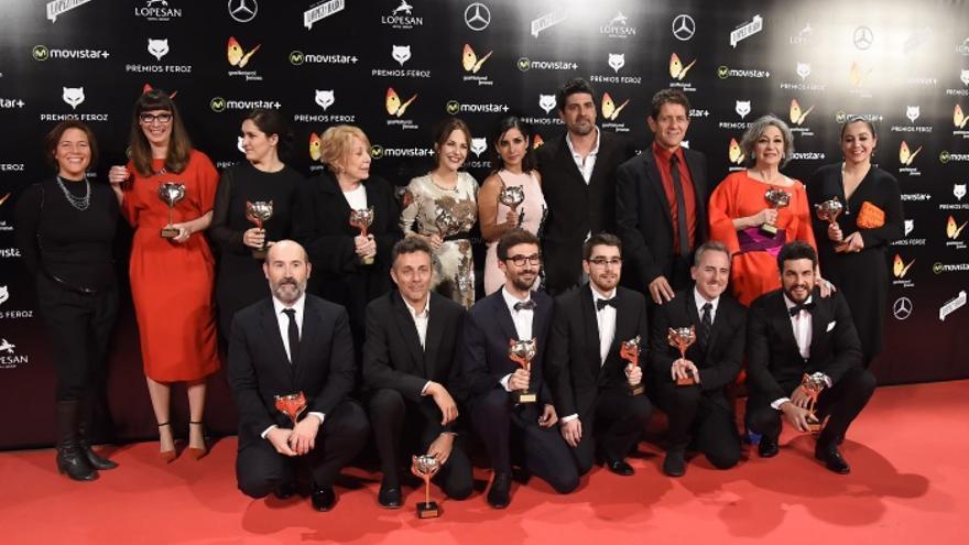 Los premiados de los Premios Feroz