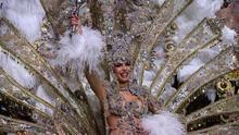 Priscila Medina Quintero, reina del Carnaval chicharrero de 2019 con la fantasía 'La Nuit'