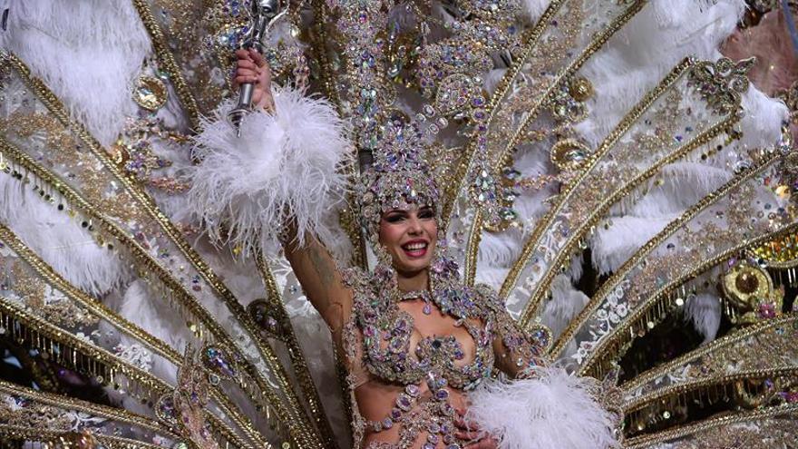 Priscila Medina Quintero, reina del Carnaval chicharrero de 2019