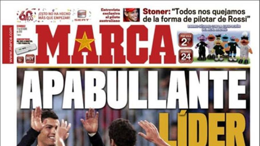 De las portadas del día (17/10/2010) #10