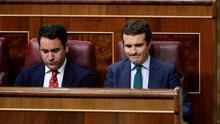 García Egea y Casado, en el Congreso de los Diputados