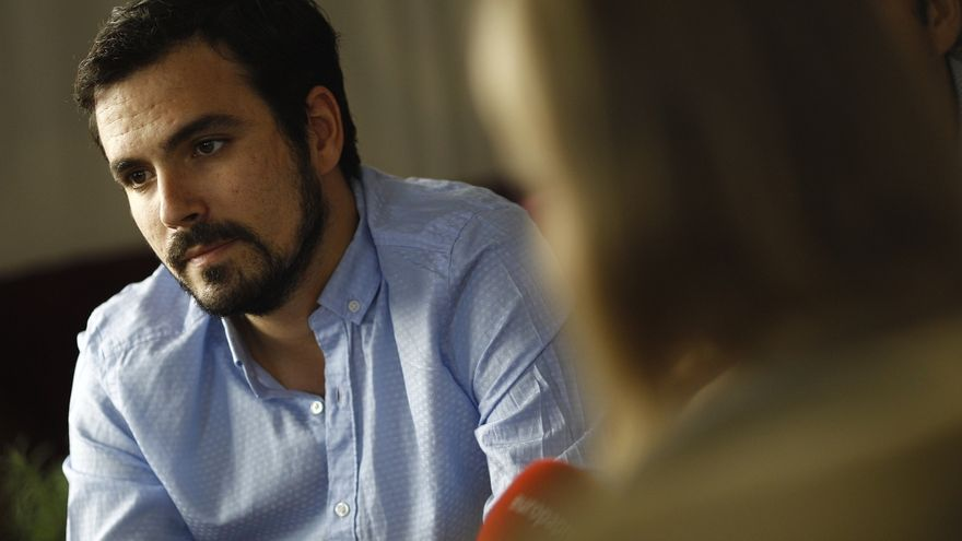 Alberto Garzón, candidato de IU a la presidencia del Gobierno.