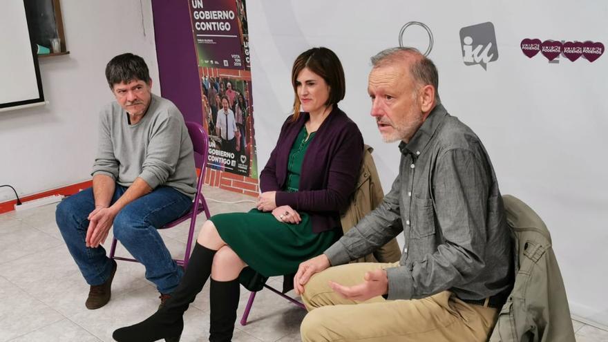 El candidato vasco Roberto Uriarte, en un acto en La Rioja con Luis Illoro