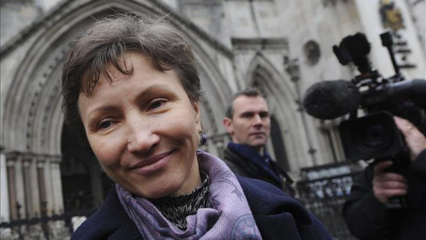 La viuda de Litvinenko acusa al juez de no buscar la verdad sobre el exespía