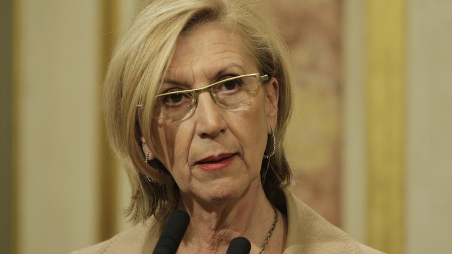"Rosa Díez dice que los 'papeles' de Naseiro confirman que la caja B del PP es ""histórica"""