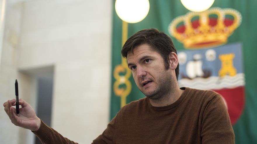 Alberto Gavín, coordinador del Consejo Ciudadano Autonómico de Podemos   JOAQUÍN GÓMEZ SASTRE