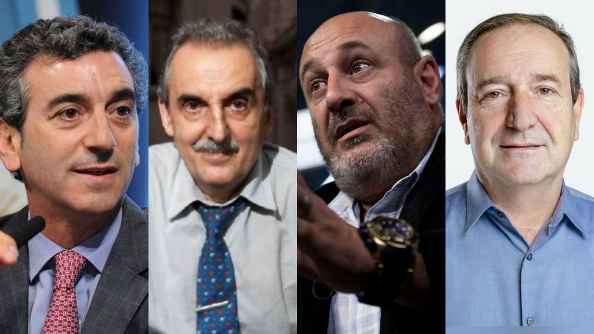 Los otros candidatos peronistas: Randazzo, Moreno, Cúneo, Saredi.