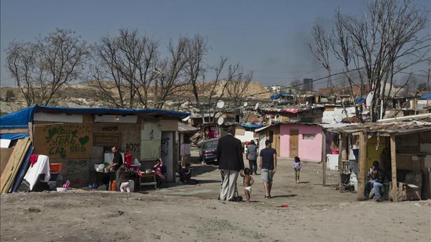 Trece detenidos de una misma familia por la venta de droga en La Cañada Real