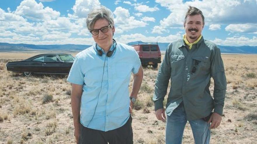 Vince Gilligan y Peter Gould, creadores de 'Better Call Saul' y 'Breaking Bad'
