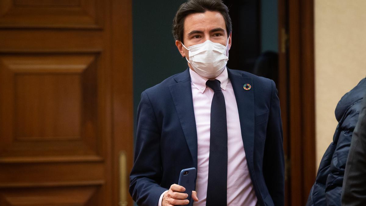 El diputado socialista por Cantabria en el Congreso Pedro Casares.