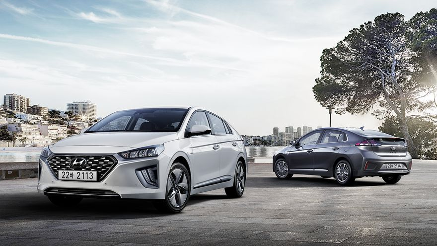 Gama Hyundai Ioniq 2019.