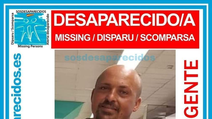 Imagen del desaparecido difundida por la ONG