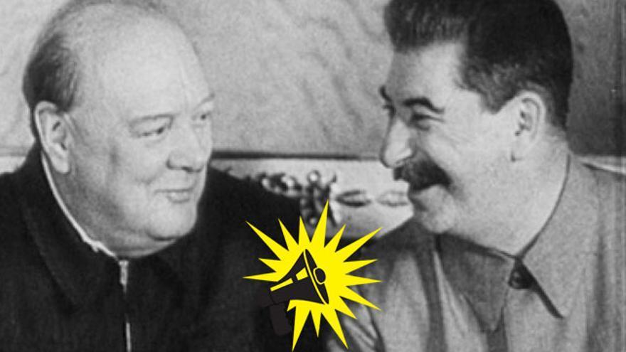 Churchill y Stalin, ¿hace falta decir más?