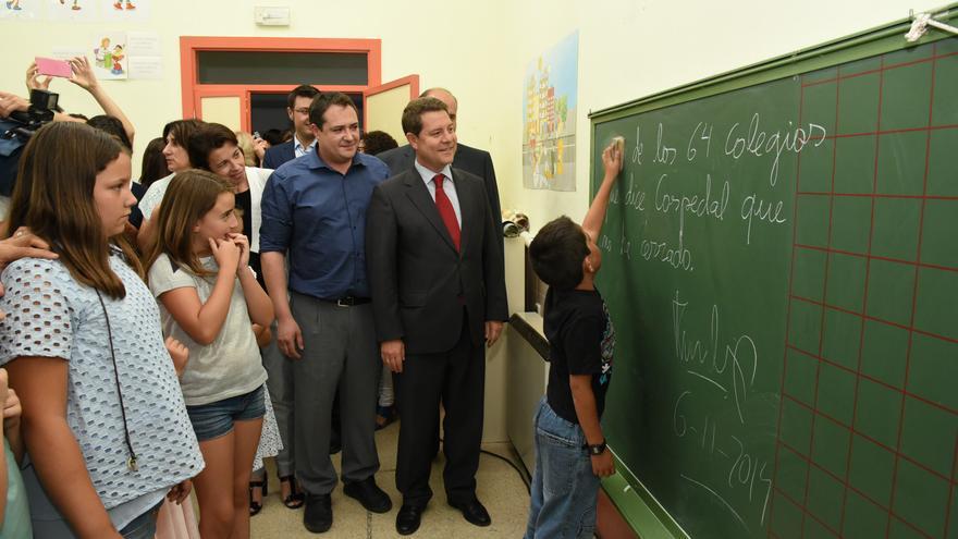 Inauguración del curso escolar por García-Page