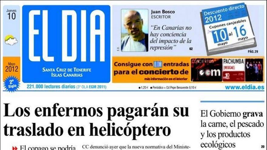 De las portadas del día (10/05/2012) #4