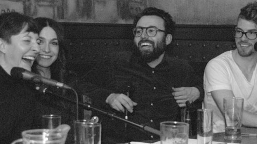 Duelo entre Eva Hache y Carlos García-Miranda con Sara Martín e Iggy Rubín de testigos