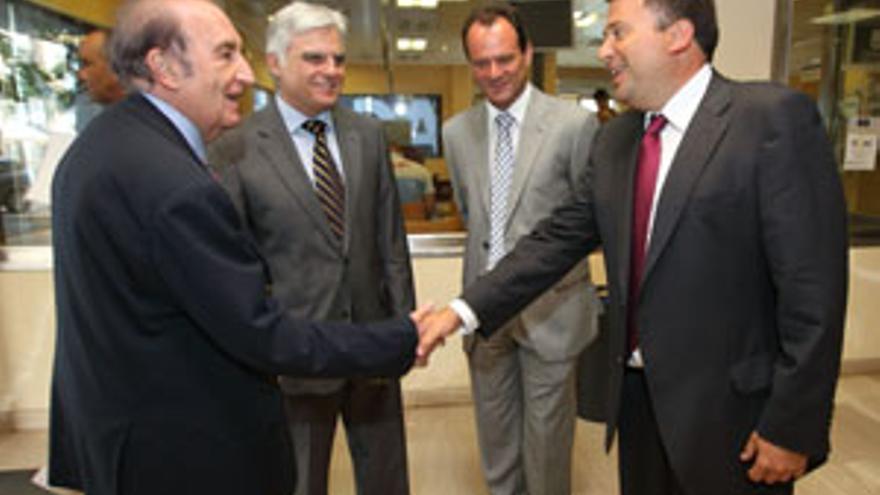 Eduardo Portela, José Miguel Pérez, Óscar Hernández y Luis Ibarra. (CANARIAS AHORA)