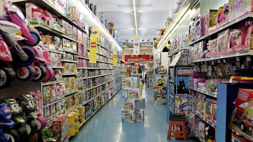 Tienda de juguetes, en una imagen de archivo