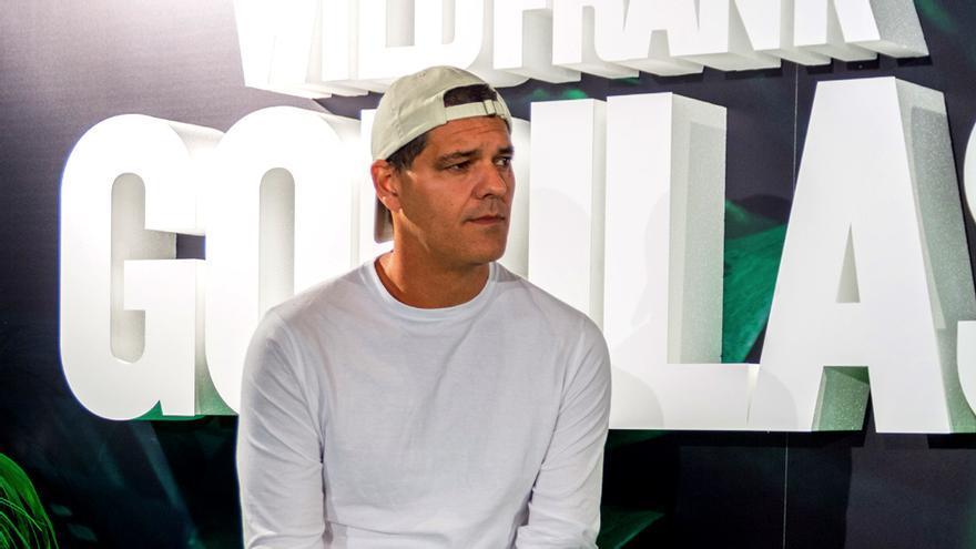 Frank Cuesta en la presentación de Wild Frank: Gorilas