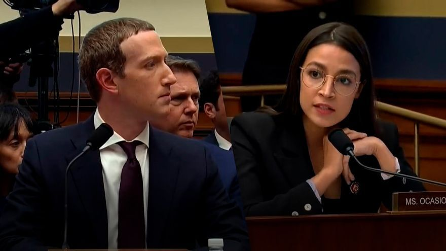 AOC vs Mark Zuckerberg.