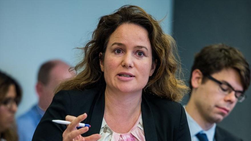 La secretaria general de Housing Europe, Sorcha Edwards