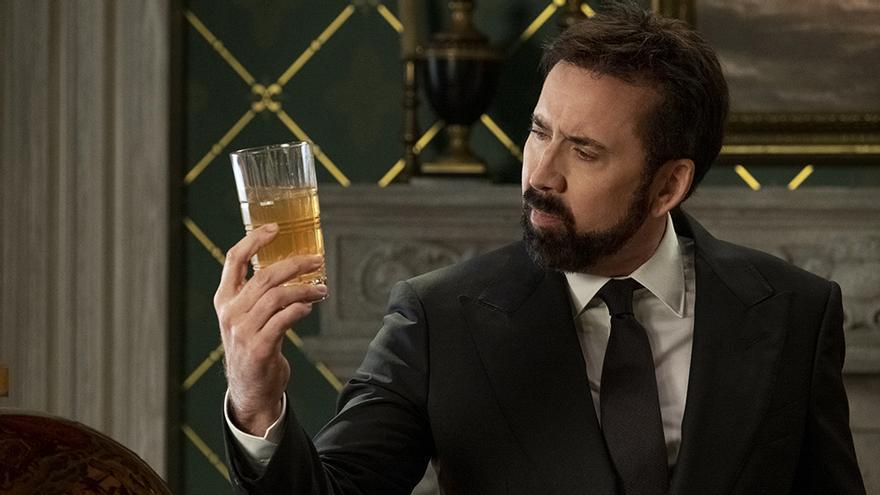 Nicolas Cage en 'La historia de las palabrotas'