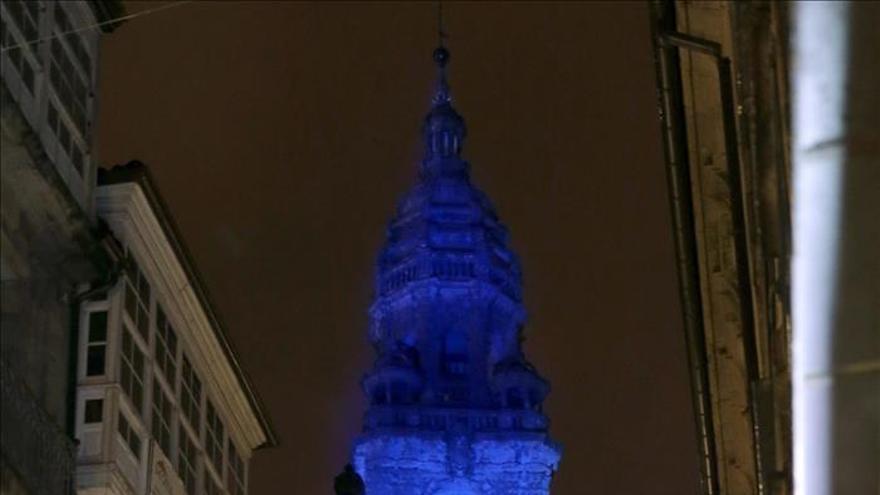 La Catedral de Toledo se ilumina de azul por la diabetes