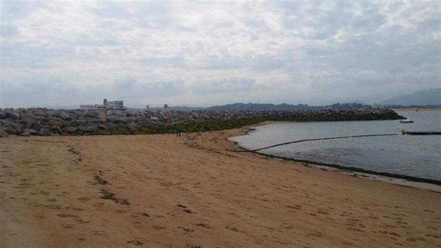 Salvar La Magdalena pide llevar a Pleno la retirada de los espigones y mantener la playa con trasvases internos
