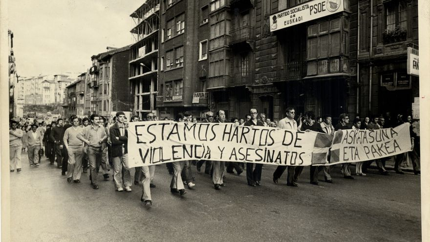 Portugalete, 28 de junio de 1978. Archivo Municipal de Bilbao. Fondo de La Gaceta del Norte.