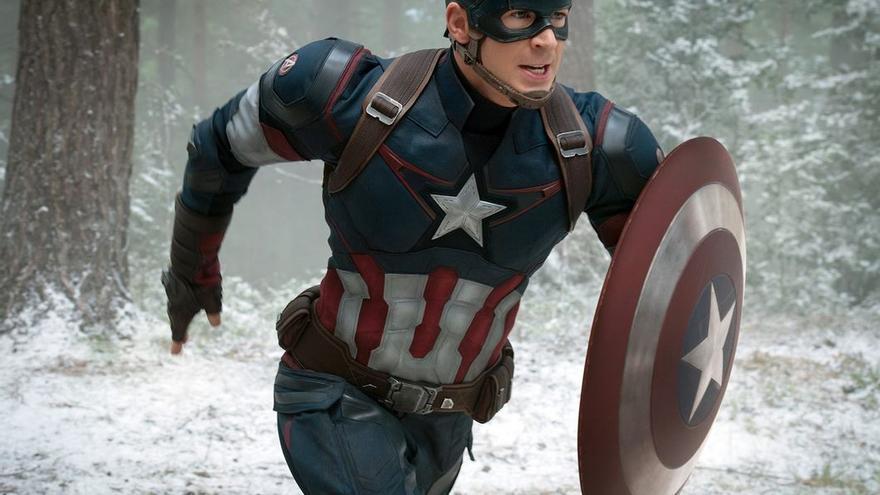 El Capitán América que interpreta Chris Evans en el MCU (Universo Cinematográfico Marvel)
