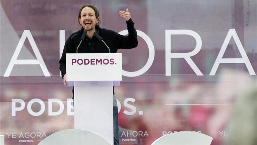 Pablo Iglesias reclama el voto de los mayores y de los socialistas con corazón