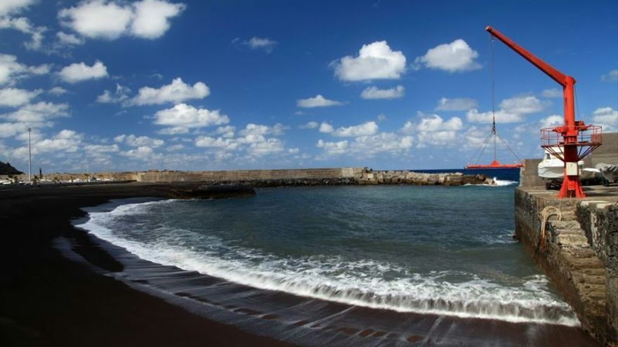 Playa de Puerto Espíndola, en San Andrés y Sauces. Foto: VanMarty.com