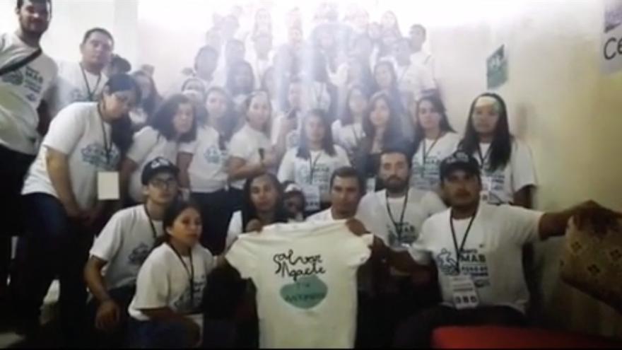 El mensaje de 'Salvar Agaete' llega al encuentro entre jóvenes de las Reservas de la Biosfera de Iberoamérica