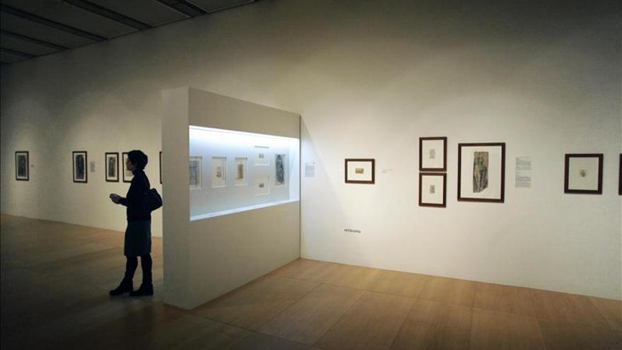 Abanca expone los dibujos de Brocos y su influencia en Picasso como maestro