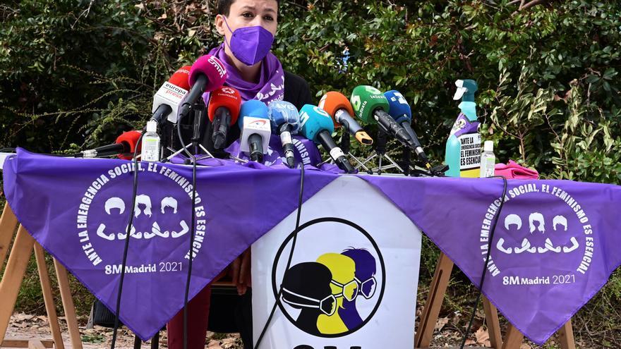 La Comisión 8M convoca 4 concentraciones de hasta 500 personas en Madrid