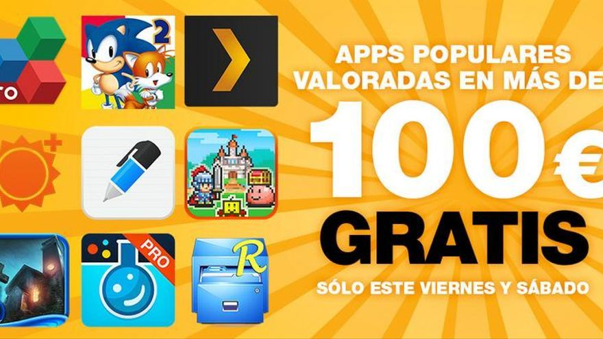 Amazon 30 apps de 100 euros gratis