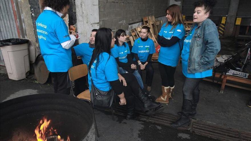 Los empleados de Edesa encerrados dicen no perder la fe en la cooperativa