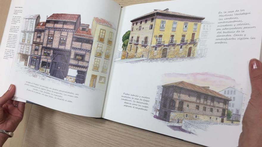 El Ayuntamiento imprime 500 nuevos ejemplares del libro 'Vitoria-Gasteiz en acuarela y verso'