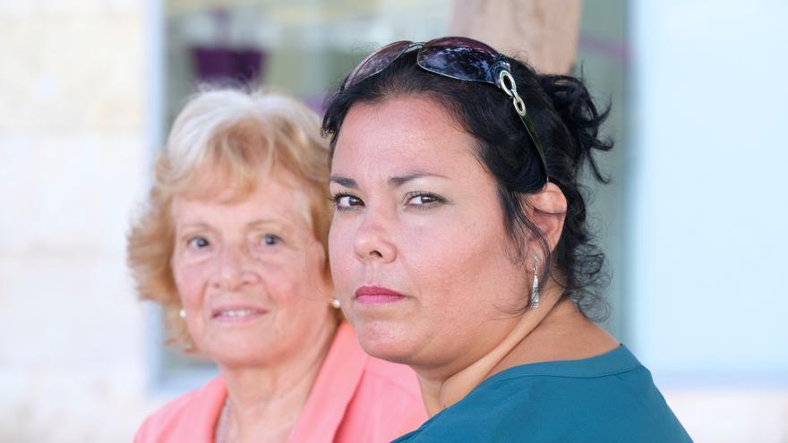 Mónica y Martha. (CARLOS DE SAÁ)