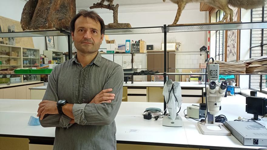 Pedro Lucha, profesor de Didáctica de las Ciencias Experimentales en el campus de Huesca de la Universidad de Zaragoza